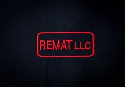 REMAT, LLC embroidered logo