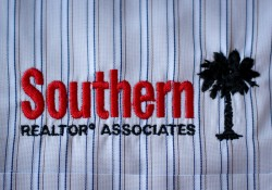 Southern Realtor Associates embroidered logo